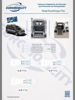 Adaptación de vehículos Asturias   Rebaje Renault Kangoo Maxi