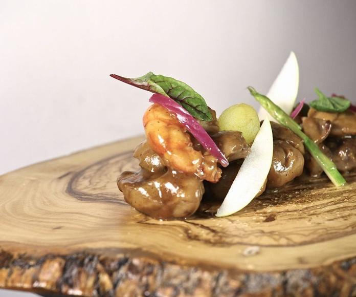 Second: Signature cuisine de A Catar