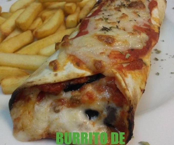 Menú del día sábados y domingos (comidas): Carta de Pizzería La Góndola
