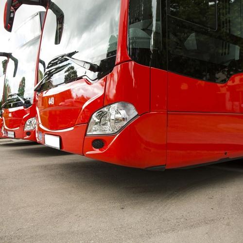 Cristalería del autocar y autobús