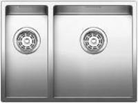 Fregaderos Blanco de acero inoxidable modelo Blanco Claron 340/180-IF