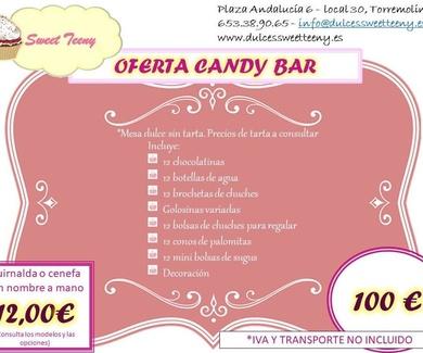 Ofertas Candy Bar