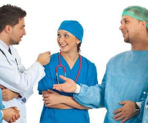 Ropa laboral para personal sanitario