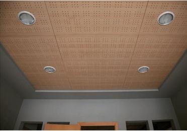 Montajes de techos de melamina
