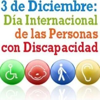 3 de Diciembre Día Internacional de las personas con Discapacidad
