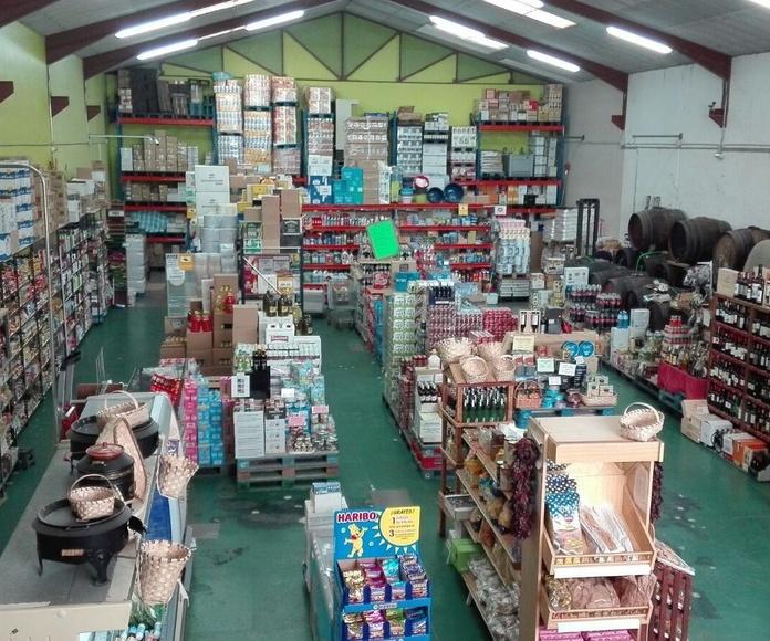 Un comercio de toda la vida en Aguilar de Capoo