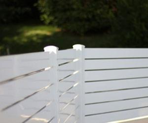 Instalación de vallas para cerramiento de jardínes