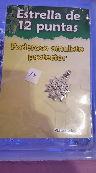 Estrella 12 puntas: Catálogo de Talismán Tienda Esotérica