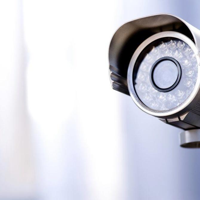 Las cámaras de seguridad en los garajes