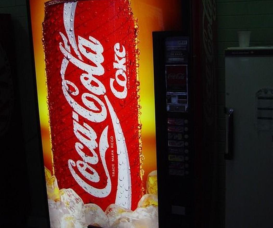 Comodidad de una máquina vending