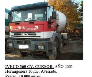 Iveco 360 cv. Cursor año 2001