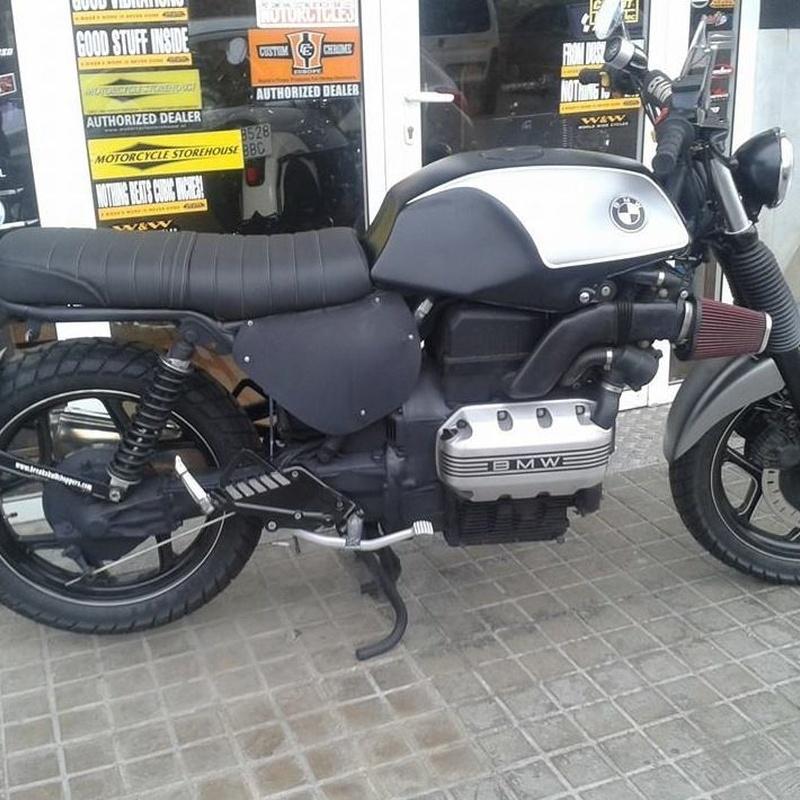 transformacion bmwk75,personalizacion motos,bmwk75,scrambler,motos custom valencia