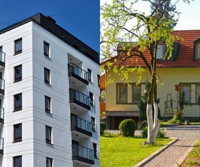 ¿Qué prefieres, piso o chalet?