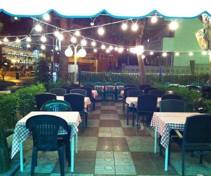 Pizzeria restaurante en Calella