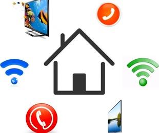 Internet, televisión y teléfono
