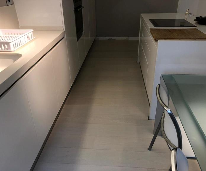 Instalacion de parquet en vivienda