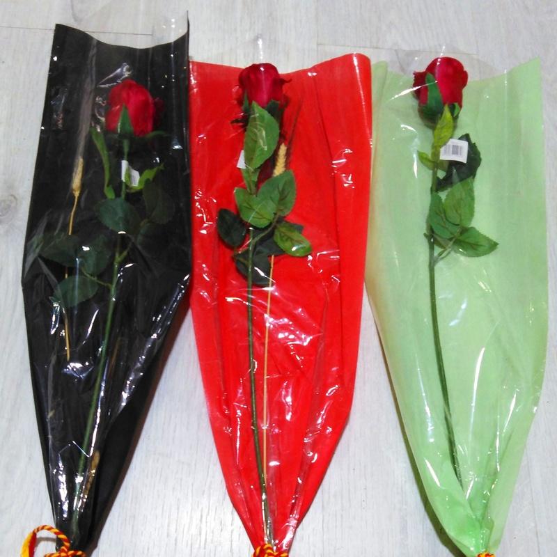 PQTE. (x 25 unid.) Bolsas rectas de FIELTRO (20x70 cm.) COLOR: 3 colores PRECIO: 10 €