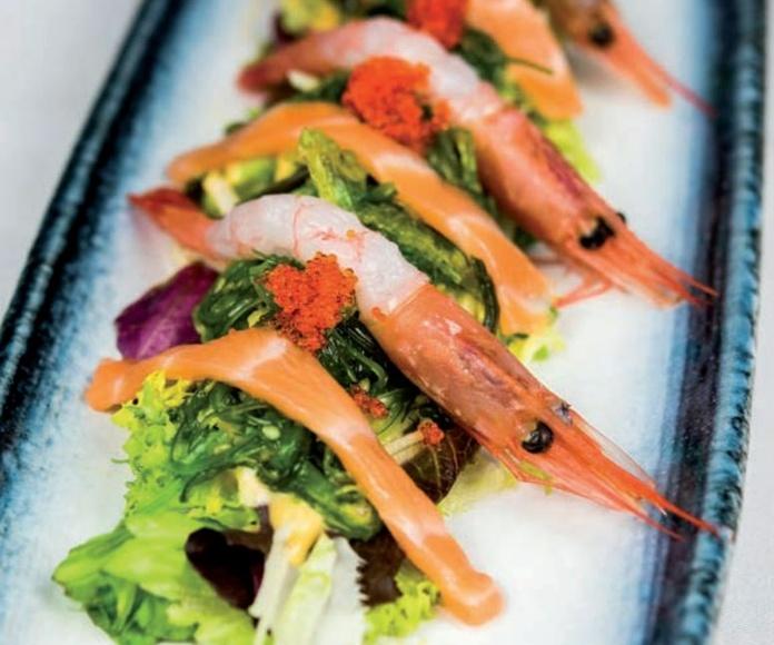 Para comenzar: Carta de Restaurante Kyoto