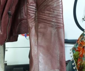 Antes y después chaquetas afectadas por humedad