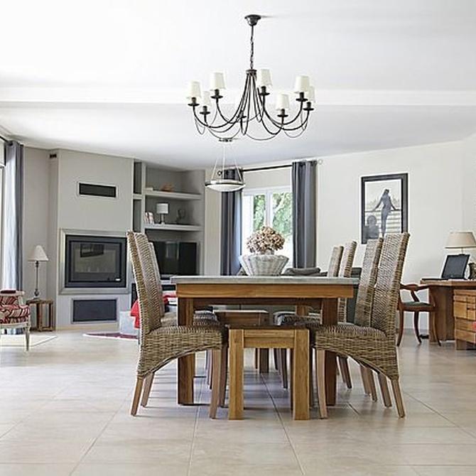 La belleza de los muebles de mimbre para tu hogar