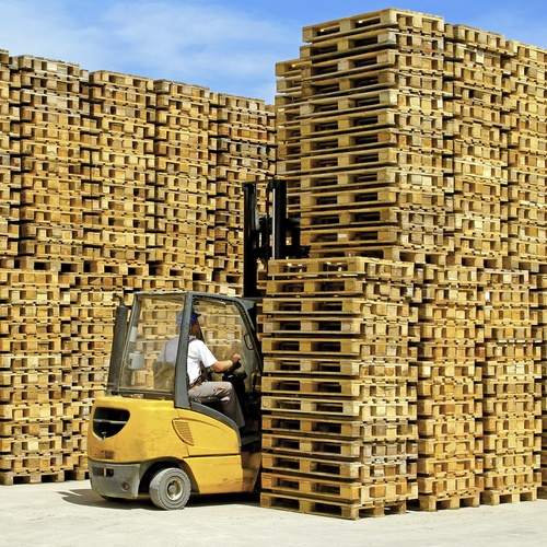 Empresa de reciclaje de palets en Málaga