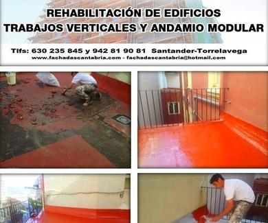 Impermeabilizaciones y pavimentos cotinuos Santander