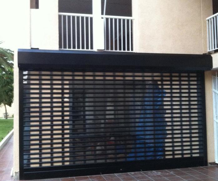 Puertas enrollables de aluminio : Servicios de Puertas Automáticas Tomás del Toro
