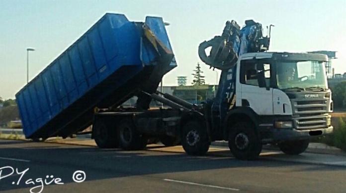 Servicio de contenedores: Servicios de Desguaces Tres Torres