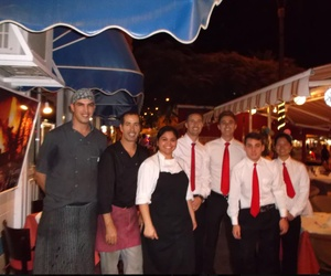 Restaurante frente al mar en Tenerife