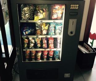 Máquinas expendedoras comida