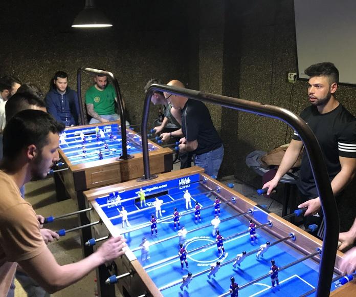 Torneo futbolín