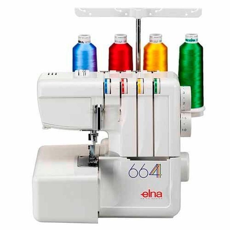 Elna 664 Overlock de 3 y 4 hilos con posibilidad: Productos de J. Pujol