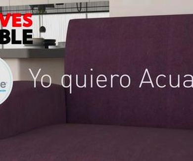 Elección del sofá, tapizados antimanchas ACUALINE