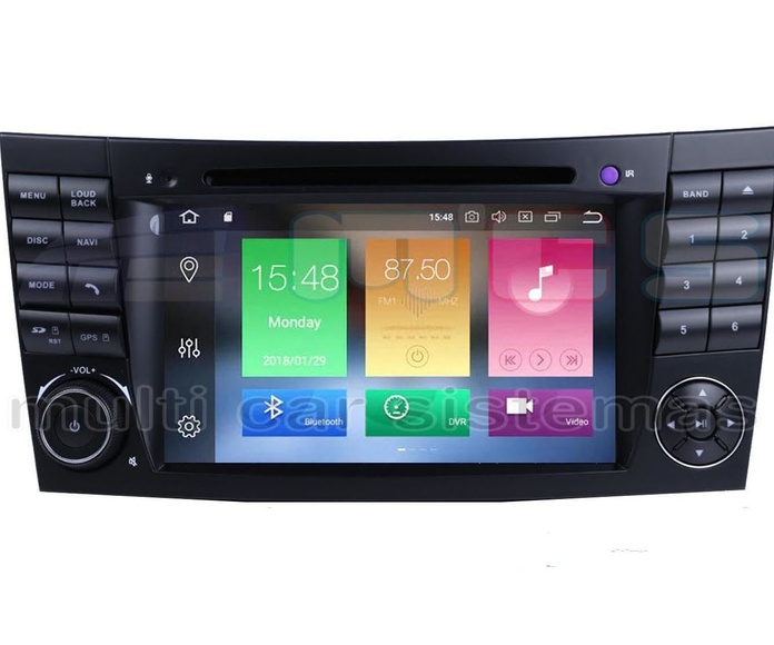 RADIO GPS PANTALLA TACTIL ANDROID MERCEDES CLASE E W211 CLS C219
