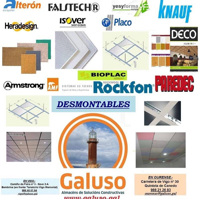 TARIFA DESMONTABLES 2019: Catálogo de  Galuso