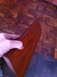 OFERTA zocalo o rodapie macizo madera de Jatoba  suministro a toda España