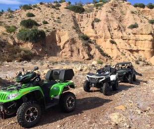 Últimas salidas de los amantes de la naturaleza y el ATV