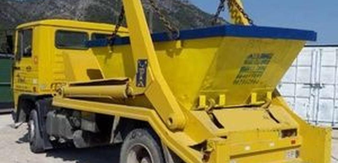 Contenedores para escombros en Denia