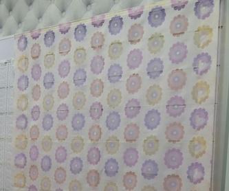 Barras y accesorias para cortinas  : Productos  de Triana Tejidos y Decoración