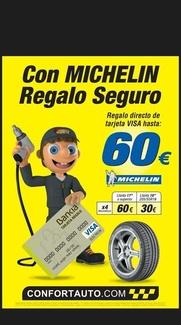 Ofertas neumáticos Michelín
