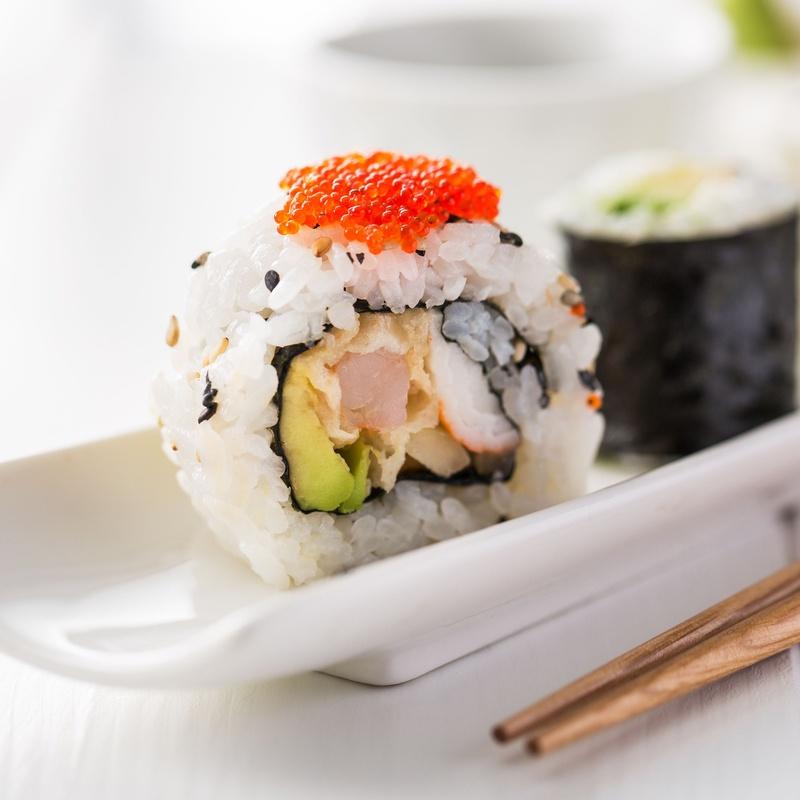 Cristal maki: Carta de Mr. Sushi