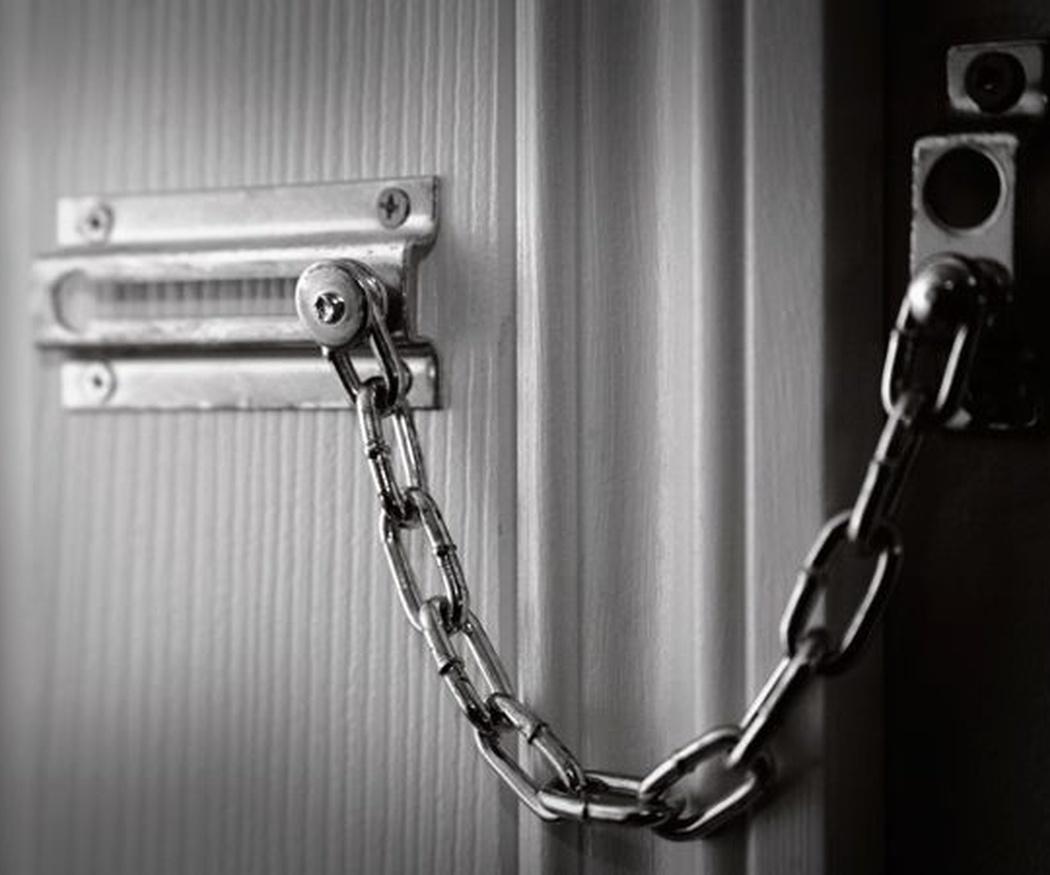 Cadenas de puertas para mejorar la seguridad