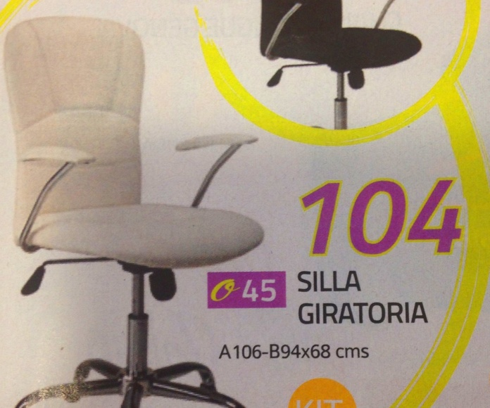 silla despacho mod.41: Productos  de Muebles Llueca, S. L.