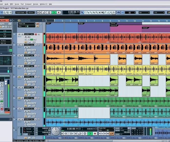 CURSO DE CUBASE I: Catálogo formación de Bohemian Bocanegra Rhapsody Music