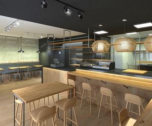 Diseño y reforma de local comercial para burger/sushi-bar en el Vallès, Barcelona