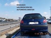 PEUGEOT 206 1.9 HDI AÑO 2004: Catálogo de Desguace Valorización del Automóvil BCL, S.L.