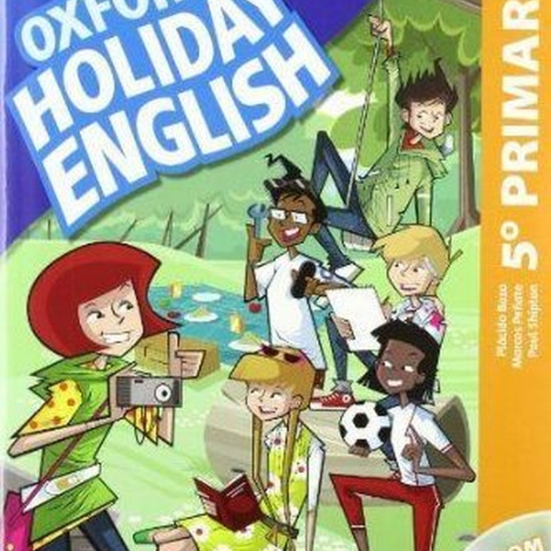 Holiday English 5 Primaria: Student's Pack. OXFORD.  9780194546324