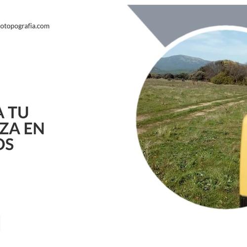 Mediciones topograficas en Sierra de Madrid