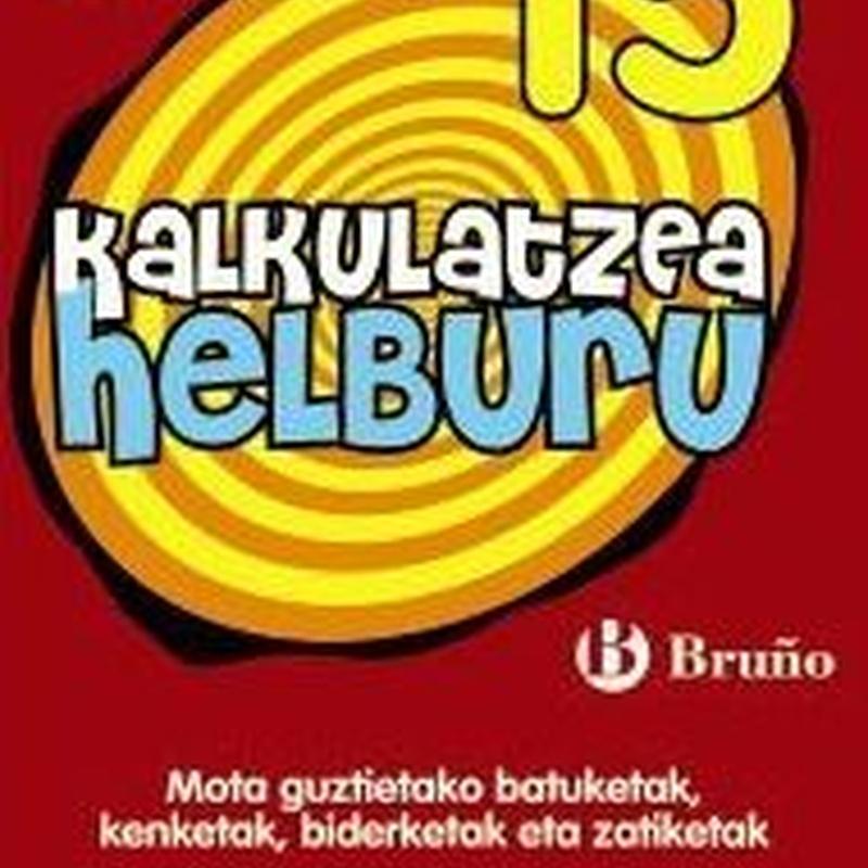 KALKULATZEA HELBURU