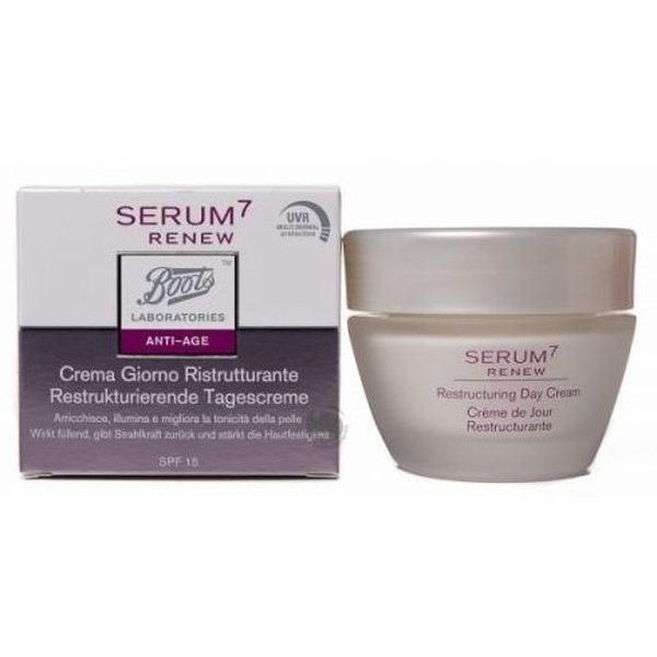 Serum 7 Renew crema dia restructurante: Catálogo de Farmacia Las Cuevas-Mª Carmen Leyes